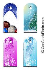 Christmas Gift tags - Gift tags for a christmas...