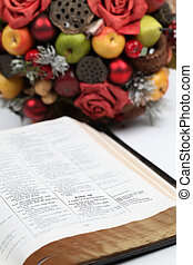 Thanksgiving Scripture - Thanksgiving arrangement with the...