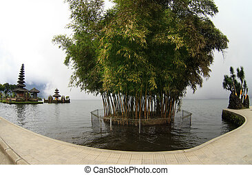 Ulun Danu Bedungul - Bali water temple at bratan lake ulun...