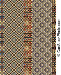 inca pattern Vector illustration