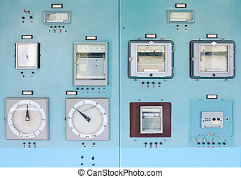 Control panel with instrumentation