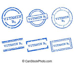 Vitamin B5 stamps