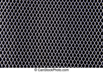 ancient car bumper metal grating background - ancient car...