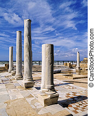 Caesarea Maritima - photo was taken during the winter in...