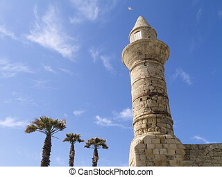 Caesarea - photo was taken in Israel