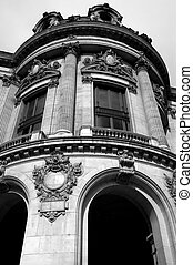 French Architecture - Classic architecture around Paris,...