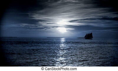 Moon Light Sail - Moon light sail boat Florida Keys, Key...