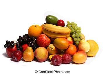 Pile of fruit - A pile of fresh fruit