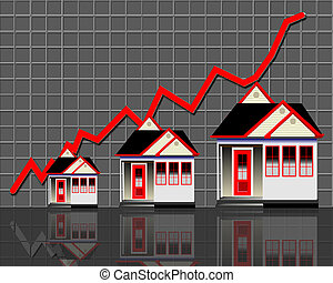 Home Values and Prices. - Home values going up.