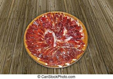 Spanish iberian ham - Spanish iberian ham from acorn fed...