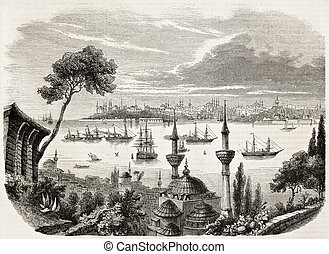 Constantinople - Sultan departure from Constantinople...