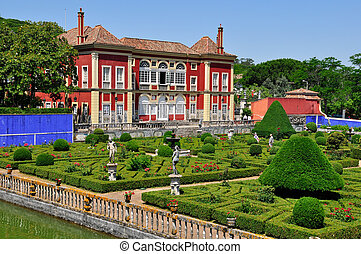 Fronteira Palace in Lisbon, Portugal - Lisbon - MAY 21:...