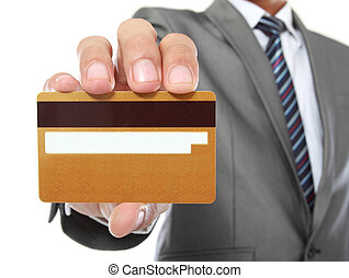 payment method - cropped image of hands paying using credit...