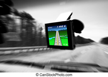 GPS - The GPS screen was made by me, no copy rights by GPS...