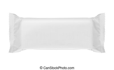 blank package - food blank package isolated over white...