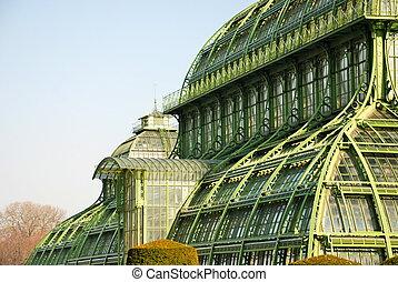 The Great Palm House at Schonbrunn - Palmenhaus Schnbrunn...