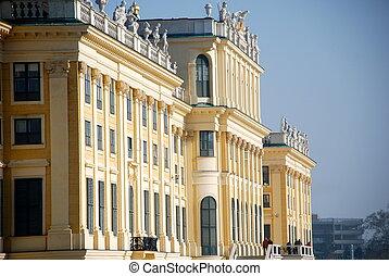 Schonbrunn Castle, Vienna, Austria - Schonbrunn Palace is a...