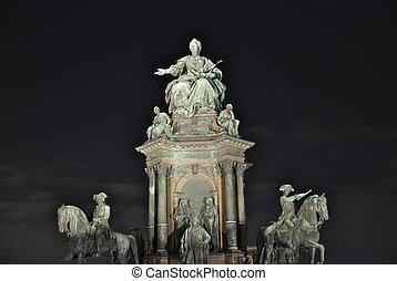 Maria, Theresia, monumento, Viena
