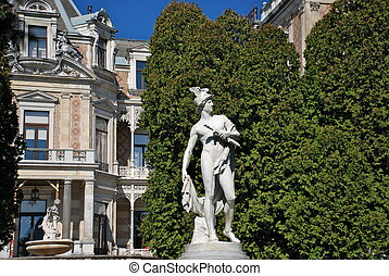 Hermes statue, Hermesvilla, Vienna - The Hermesvilla is a...