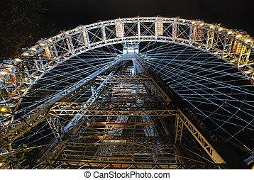 Prater Giant Ferris Wheel, Vienna - The Wiener Riesenrad...