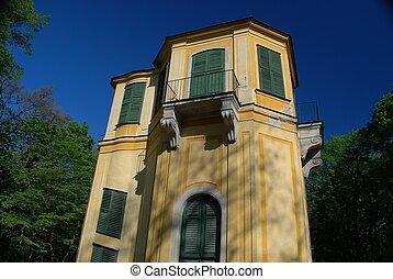 Little Gloriette, Schonbrunn park - Schnbrunn Palace is a...