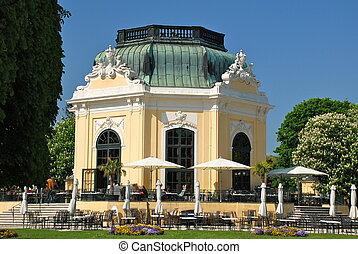 Breakfast Pavillon, Schonbrunn - Schonbrunn Palace is a...