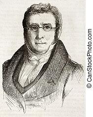 De Candolle - Augustin Pyramus de Candolle old engraved...