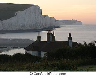 Coastguard Cottages Seaford Head - Coastguard Cottages at...