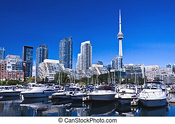 Toronto Waterfront Yacht Club - Spectacular view of Toronto...