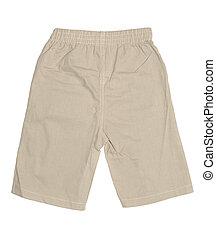 Boys Shorts - Baby boy\\\'s shorts isolated on white...
