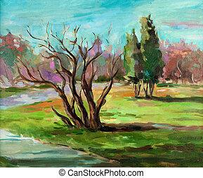 paisagem, natureza