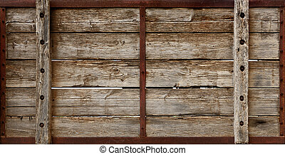 Wooden Crate Boards Texture - Large wooden crate boards...
