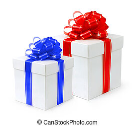 Fancy Holiday Gift Box - Fancy holiday gift boxes with red...