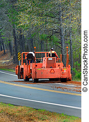 Tax Dollars at Work - Arkansas highway department works on...