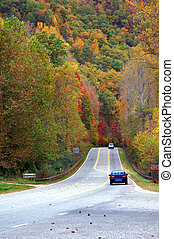 Beckoning byway - The North Carolina mountains beckon...