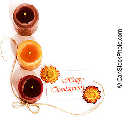 Thanksgiving holiday decorative border - Thanksgiving...