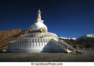 White Leh Pagoda