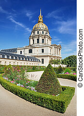 Invalides - Chapel of Saint-Louis-des-Invalides, built 1679...