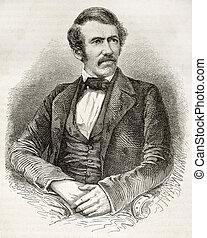 Livingstone - David Livingston old engraved portrait....