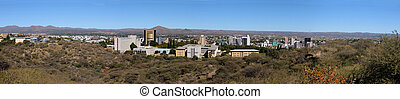 Windhoek panorama - Panorama of Windhoek in Namibia made...