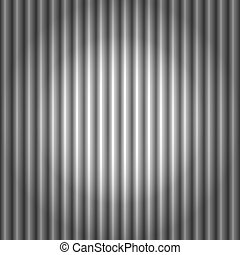 Seamless corrugated silver metal background - Seamless...