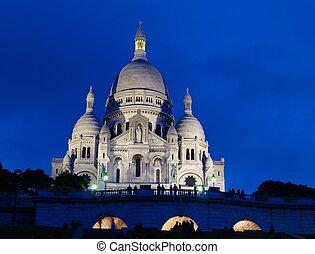 Montmartre, Paris, France - Basilique du Sacre Coeur