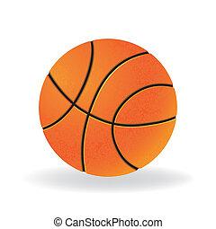 Ball for playing basketball game
