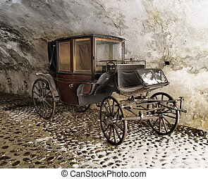 Old Carriage - old way of transport