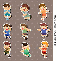 kid jump stickers
