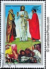 Jesus Christ Transfiguration Elijah Moses Disciples -...