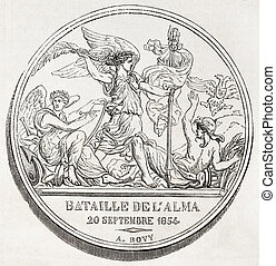 Battle of Alma medal