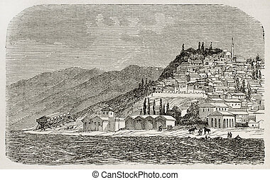 Nicomedia - Old view of Nicomedia (nowadays Izmit) senior...