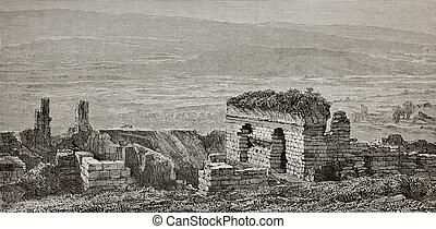 Ephesus gymnasium ruins