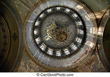 Saint Sofia Russian Orthordox Church Inside Dome Harbin...